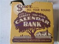 ADVERTISING CALENDAR BANK