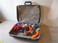 SUITCASE FULL OF KIDS MEAL TOYS