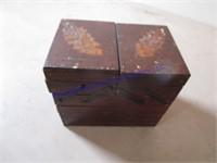 FOLDING JEWELRY BOX