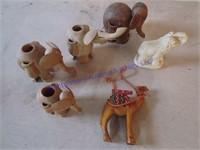 ELEPHANT TOOTHPICK HOLDERS