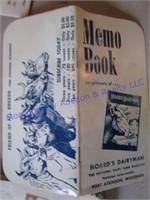 HOARD'S DAIRYMAN MEMO BOOKS