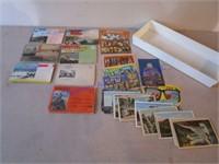 VINTAGE TRAVEL  POST CARDS- PLACES