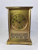 LOUIS C. TIFFANY FURNACES INC - 1924 MANTEL CLOCK
