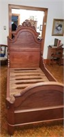 Antique empire twin bed