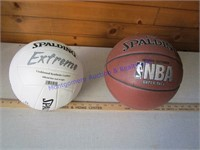 BASKETBALL & VOLLEYBALL