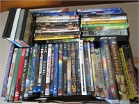 DVD AND VHS TAPES