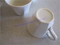 CREAM & SUGAR/CUPS