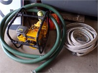 Water Pump and Hoses