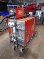 Airco Pulse arc 350 Welder with Feeder
