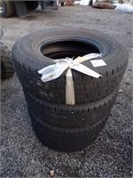 4 General Grabber Tires 245/75R16