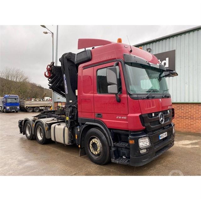2013 MERCEDES-BENZ ACTROS 2646 at TruckLocator.ie