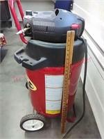 >Coleman 27 gal Powermate Air Compressor TESTED &