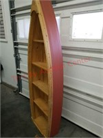 ">Rustic looking boat shelf approx 72"" tall X 8"