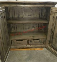 >Rustic looking hutch. 1 of 4 pc set. - each sold