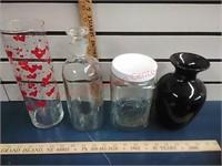 Opalescent, milk glass, cut glass & more