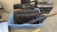Office & Golf Lot. Golf Clubs, Storage Totes,