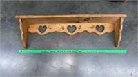 Wood Furniture Lot- 2 Full Headboards, Shelves,