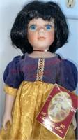 Fairy Tales Series Snow White Porcelain Doll