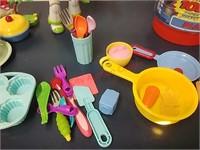 Fisher Price, Seasame Street & Little Tikes toys