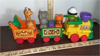 2 Fisher Price Train Sets. Circus Train & Easter