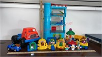 Little People Lot. House, Circus Set, etc.