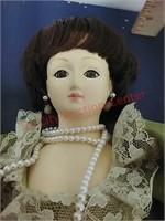 Pres. Ladies dolls Jane Pierce & Dolly Madison