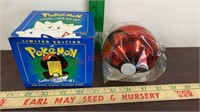 3 Pokémon Balls w/ 23K Gold Plated Trading Cards