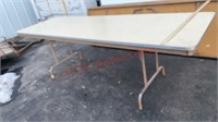 >>8 Foot Solid Wood Folding Table