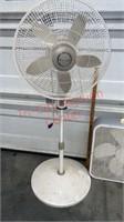 2 Lasko Fans. Pedestal & Box Fans. Both Tested &
