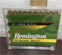 Remington 22 Long Riffle Ammo 100 Rounds