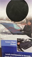 Frost Guard Windshield Cover & Winter Tire Straps