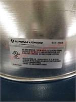 Lithonia Lighting 400 watt overhead shop lighting