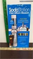 Hamilton Beach Soda Station. Make your own Soda