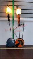 2 Reel Drop Lights tested & work