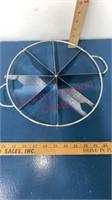 Granite Ware, Pie Cutter, & Tablecloth