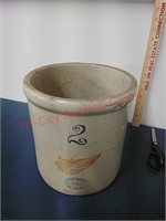 Red Wiing 2gal. Union Stoneware crock