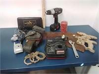 Craftsman 19.2v drill & tools, belt & more