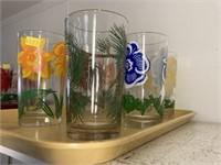 (6) Vintage PB Glasses