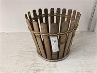 Antique Stave Basket