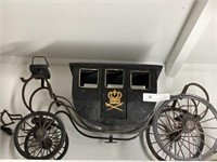 Byers' Choice Horse-Drawn Carriage