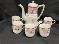 Noritake 6Pc Miniature Tea Set