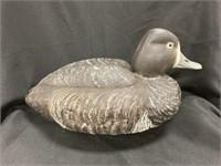 Vintage Painted Cork Duck Decoy