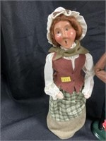 (2) Byers' Choice Figurines-Marionette Doll, Etc.