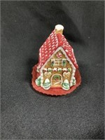 (4) Byers' Choice Holding Gingerbread Cookies