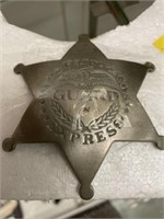 Wells Fargo Guard Badge