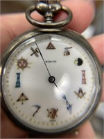 Sirom Vintage Silverplate Pocketwatch
