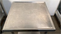 Rolling Stainless Steel Table