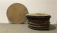(13 x The Bid) Round Folding Tables