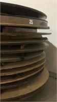 (14x The Bid) Round Folding Tables