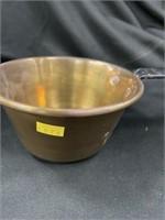 Brass Dipper w/Metal Handle